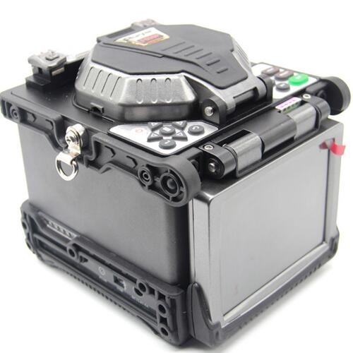 "RY-F600P FTTH Fiber Optic Splicing Machine Optical Fiber Fusion Splicer 5.1/"" LCD"