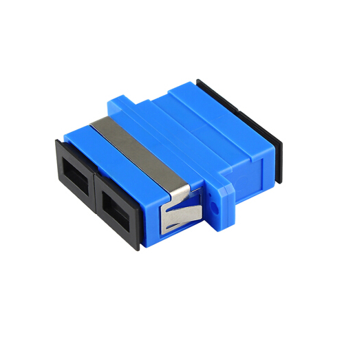 SC duplex SM Fiber optic adapter