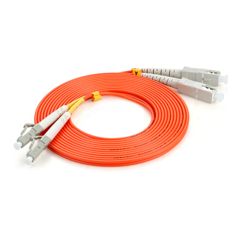 SC/UPC-LC/UPC MM DX fiber optic patch cord