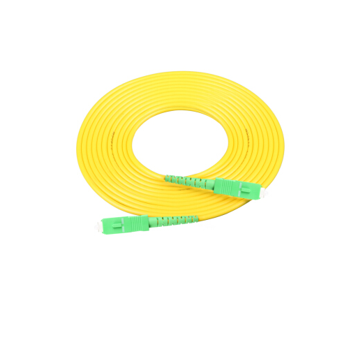 SC to SC APC fiber optic patch cord Jumper Cable SM simplex