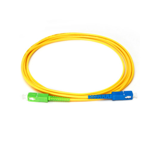 High quality cord SC/APC to SC/UPC SM Simplex fiber optic patch cord
