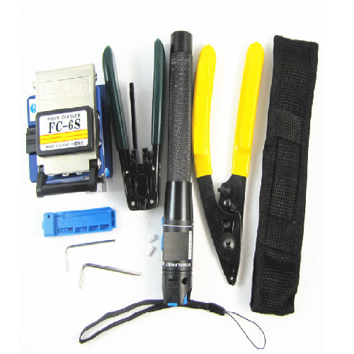 Fiber Optic Tool Kit with Cable Breaking Plier