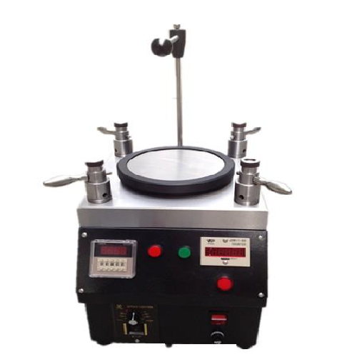 Quadrangle Fiber Optic Polishing Machine with polishing 20 Fiber connectors