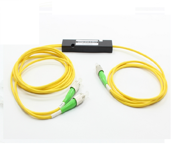 fiber optical Device 1X2ch CWDM ABS Box with FC APC