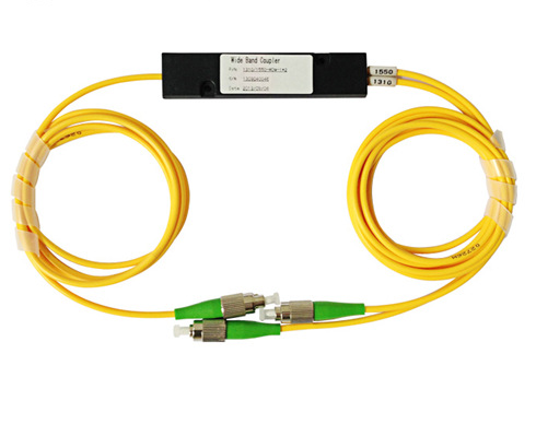 Wdm pigtail fiber combiner 1310  1550nm  two wavelength fiber splitter