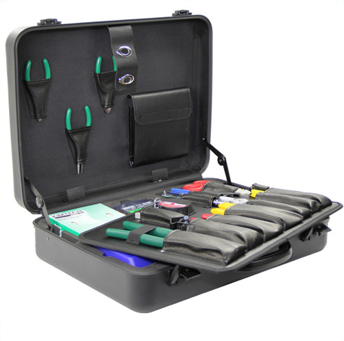 China supplier fiber optic splicing stripping toolkits