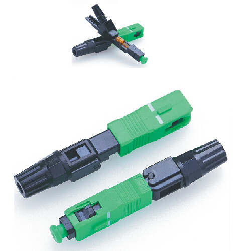Direct supply fiber optic 90 degree connector SC APC 3.0mm with sanhuan ferrule