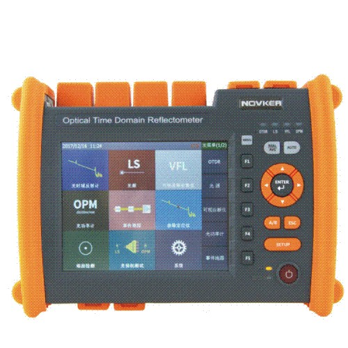 NK5000  OTDR optical time domain reflectometry fiber optic cable breakpoint tester fiber length fault detector