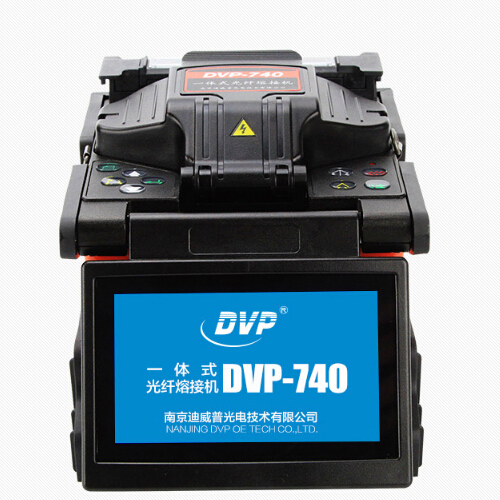 DVP-730/740/750 Fiber Optic Fusion Splicer Machine with English Version