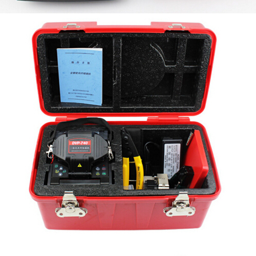 Chinese Single Optic fiber splicing machine DVP-740 Optical Fusion splicer for Ethernet