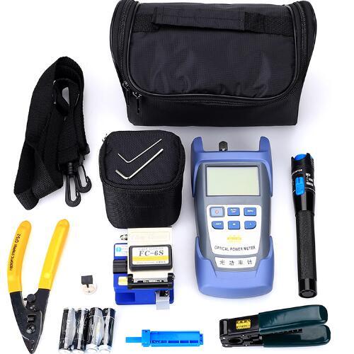 Fiber Optic FTTH Tool Kit FC-6S Fiber Cutter High Precision Power Meter