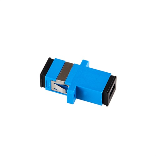 Optical Fiber SC Simplex Adapter plastic housing